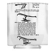 Plow Advertisement, C1890 Shower Curtain