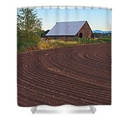 Plow Designs And A Barn Shower Curtain