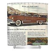 Plymouth De Soto 1953 Shower Curtain