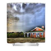 Plymouth Orchards Plymouth Mi  Shower Curtain
