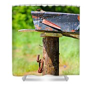 Po Monkey's Po Mailbox Shower Curtain