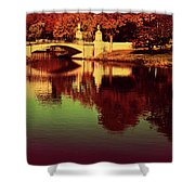 Pocket Of The City Shower Curtain by Dana DiPasquale