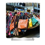 Pocketbooks And Purses Shower Curtain
