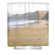 Point Reyes Beach Shower Curtain