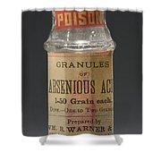 Poison Circa 1900 Shower Curtain