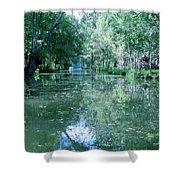 Poitevin Marsh Shower Curtain
