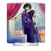 Pola Negri Shower Curtain