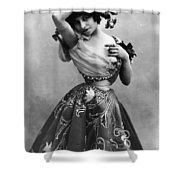 Polaire Ca.1896 Shower Curtain