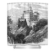 Poland: Castle Shower Curtain