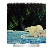 Polar Cinema Shower Curtain