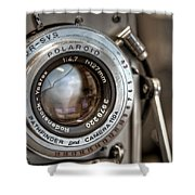 Polaroid Pathfinder Shower Curtain