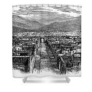 Pompeii: Ruins, C1880 Shower Curtain