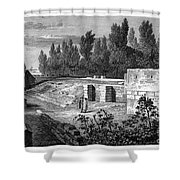 Pompeii: Stairs, C1830 Shower Curtain