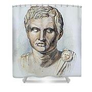 Pompey (106-48 B.c.) Shower Curtain