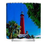 Ponce Inlet Lighthouse 1 Shower Curtain