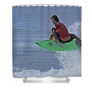 Ponce Surfer Soar Shower Curtain