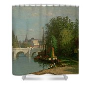 Pont Du Carrousel Shower Curtain