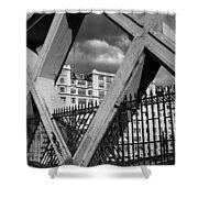 Pont Lafayette Paris Shower Curtain