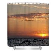 Pontchartrain Sunset Shower Curtain