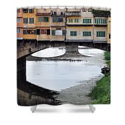 Ponte Vecchio 2 Shower Curtain