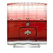 Pontiac Firebird Emblem Shower Curtain