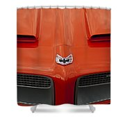 Pontiac Firebird Grille Shower Curtain