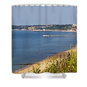 Poole Bay - June 2010 Shower Curtain