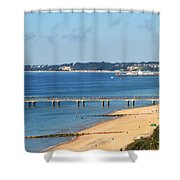 Poole Bay Shower Curtain