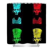 Pop Nefertiti Shower Curtain