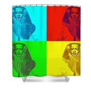 Pop Pharaoh Shower Curtain