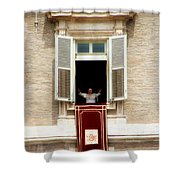 Pope Benedict Xvi A Shower Curtain