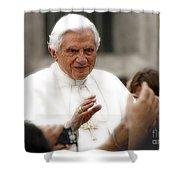 Pope Benedict Xvi Shower Curtain