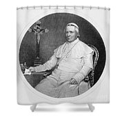 Pope Pius Ix (1792-1878) Shower Curtain