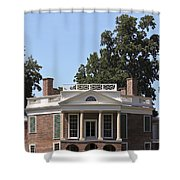 Poplar Forest From The Lawn Shower Curtain
