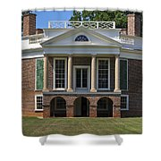 Poplar Forest From The South Lawn Shower Curtain
