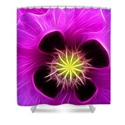 Poppy In Pink Shower Curtain