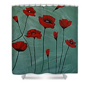 Poppy Love Shower Curtain
