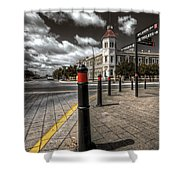 Port Adelaide Shower Curtain