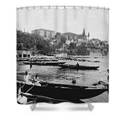 Port Of Salacak Uskudar - Turkey Shower Curtain