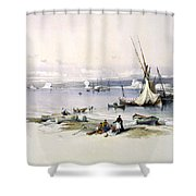 Port Of Tyre Shower Curtain