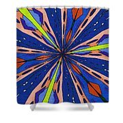 Portal To The Past Shower Curtain