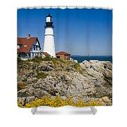 Portland Head Lighthouse Shower Curtain