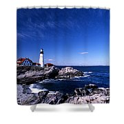 Portland Head Offshore Shower Curtain