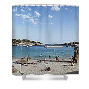 Porto Cristo Beach Shower Curtain
