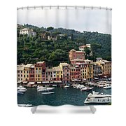 Portofino Dreaming Shower Curtain