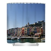 Portovenere Shower Curtain