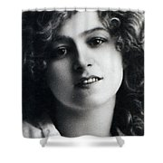 Portrait Of Gabriella Ray Shower Curtain
