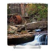 Portrait Of Glade Creek Mill Shower Curtain