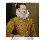 Portrait Of James I Of England And James Vi Of Scotland  Shower Curtain