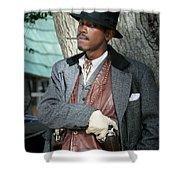 Portrait Of Kurupt Shower Curtain